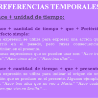 Referencias temporales