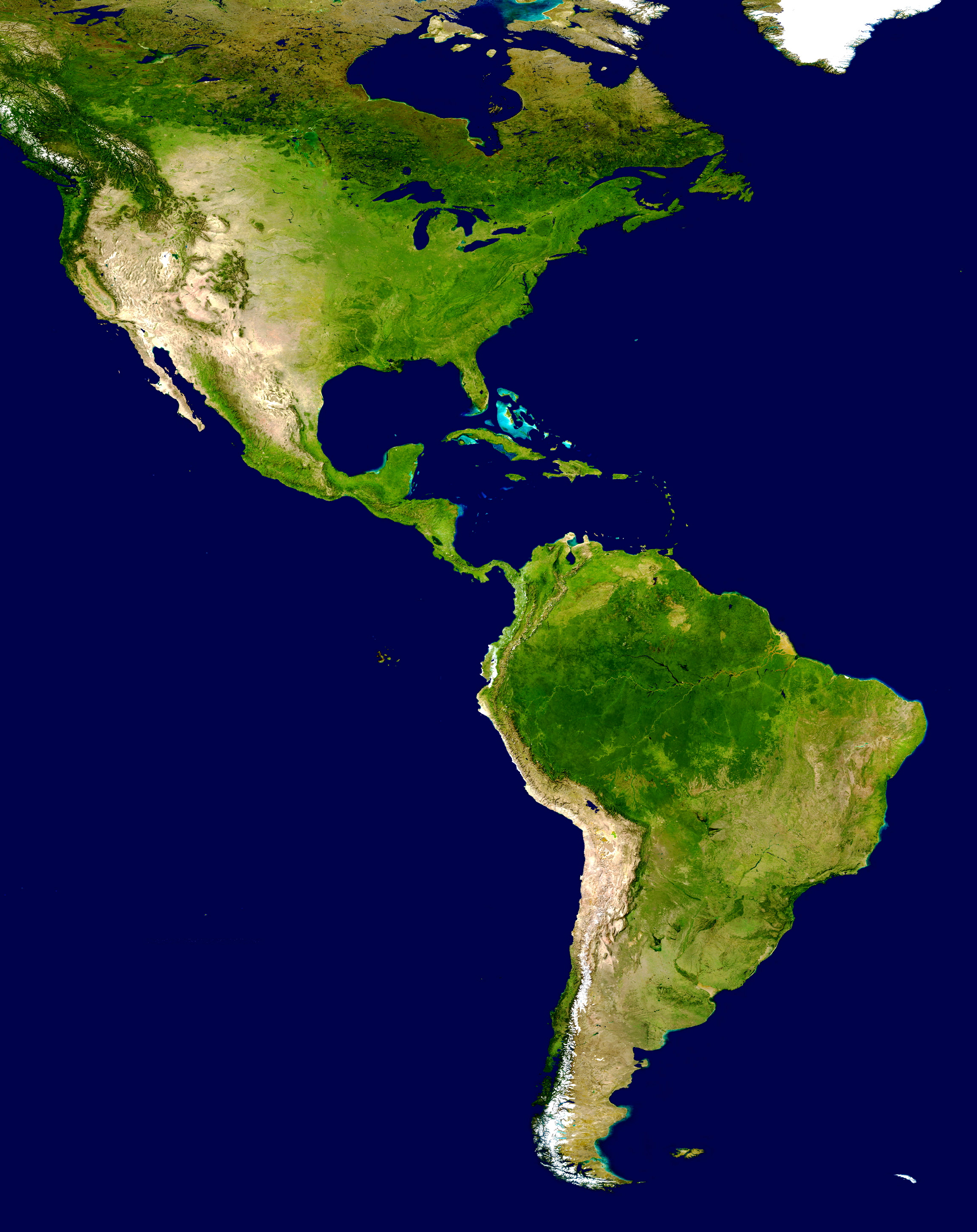 Americas_satellite_map
