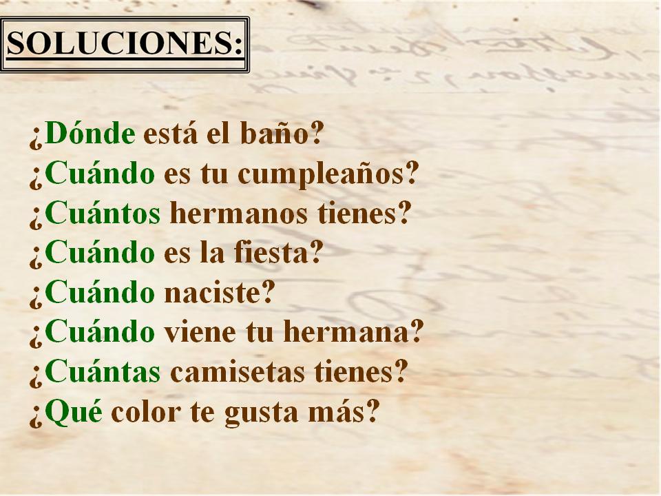 Soluciones puzzles. Madrid10