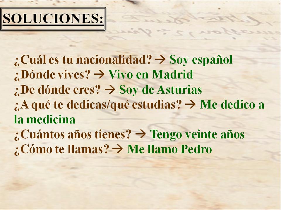 Soluciones puzzles. Madrid13