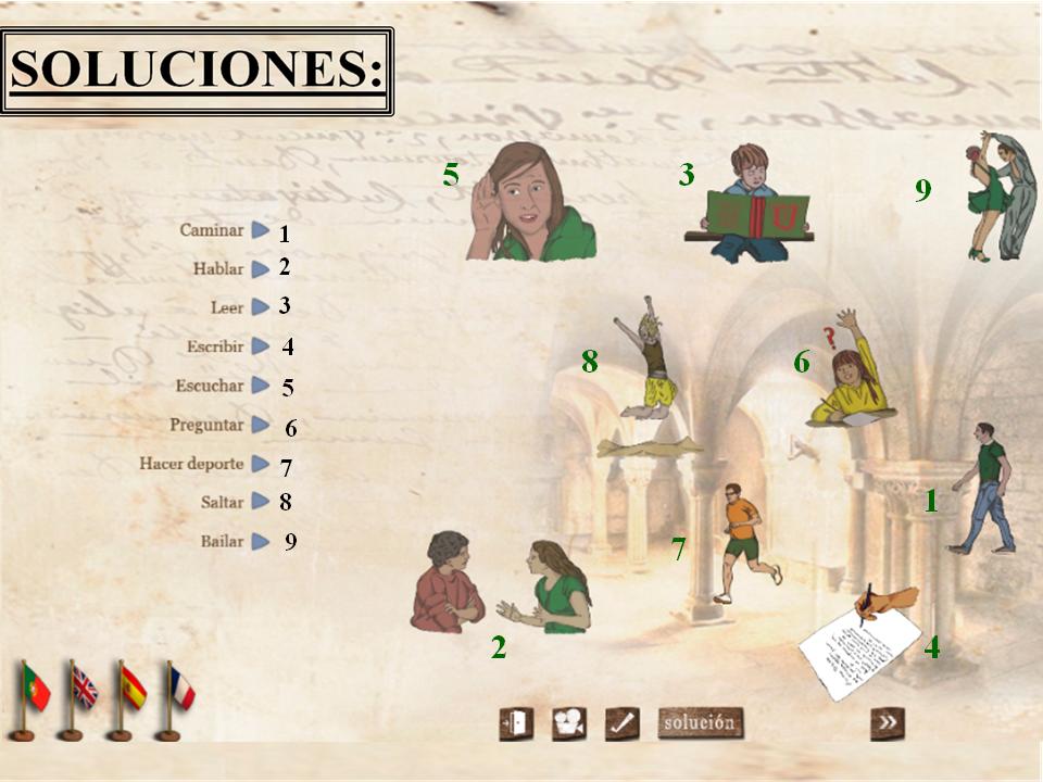 Soluciones puzzles. Madrid21
